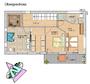 Obergeschoss  Haus - Idee EFH-S 00124 im Bauhausstil