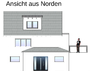Ansicht HAUS-IDEE   EFH-S 00155       TIME-PLANUNG